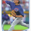 Jeff Samardzija 2013 Topps #229 Chicago Cubs Baseball Card