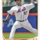 Johan Santana 2013 Topps #484 New York Mets Baseball Card