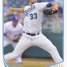 James Shields 2013 Topps Update #US245 Kansas City Royals Baseball Card