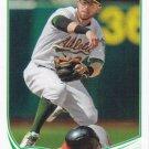Eric Sogard 2013 Topps Update #US328 Oakland Athletics Baseball Card