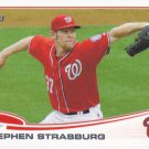 Stephen Strasburg 2013 Topps #500 Washington Nationals Baseball Card