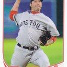 Junichi Tazawa 2013 Topps Update #US314 Boston Red Sox Baseball Card
