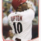Justin Upton 2013 Topps #110 Arizona Diamondbacks Baseball Card