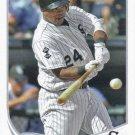 Dayan Viciedo 2013 Topps #437 Chicago White Sox Baseball Card