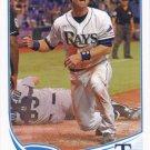 Ben Zobrist 2013 Topps #218 Tampa Bay Rays Baseball Card