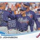 Reed Johnson 2013 Topps Update #US-173 Atlanta Braves Baseball Card
