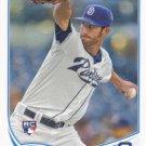 Tom Layne 2013 Topps Rookie #290 San Diego Padres Baseball Card