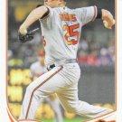 Bud Norris 2013 Topps Update #US275 Baltimore Orioles Baseball Card