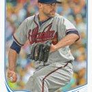 Jordan Walden 2013 Topps #444 Atlanta Braves Baseball Card