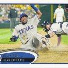 Elvis Andrus 2012 Topps #439 Texas Rangers Baseball Card