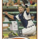 Alex Avila 2012 Topps #213 Detroit Tigers Baseball Card