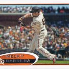 Melky Cabrera 2012 Topps Update #US189 San Francisco Giants Baseball Card