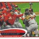 St. Louis Cardinals 2012 Topps #233 Baseball Team Card