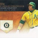 Yoenis Cespedes 2012 Topps 'Golden Moments' #GM-U14 Oakland Athletics Baseball Card