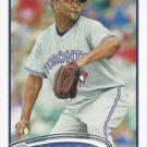 Francisco Cordero 2012 Topps #463 Toronto Blue Jays Baseball Card
