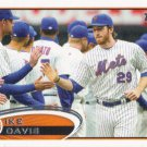 Ike Davis 2012 Topps #24 New York Mets Baseball Card