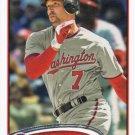 Mark DeRosa 2012 Topps Update #US227 Washington Nationals Baseball Card