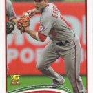 Danny Espinosa 2012 Topps #359 Washington Nationals Baseball Card