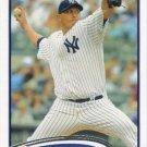 Freddy Garcia 2012 Topps #596 New York Yankees Baseball Card