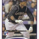 Hector Gomez 2012 Topps Rookie #534 Colorado Rockies Baseball Card