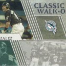 Alex Gonzalez 2012 Topps 'Classic Walk Off' #CWO12 Florida Marlins Baseball Card