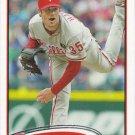 Cole Hamels 2012 Topps #190 Philadelphia Phillies Baseball Card