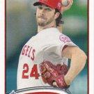 Dan Haren 2012 Topps #601 Los Angeles Angels Baseball Card