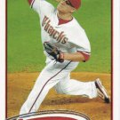 David Hernandez 2012 Topps #101 Arizona Diamondbacks Baseball Card