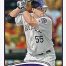 Ramon Hernandez 2012 Topps #476 Colorado Rockies Baseball Card