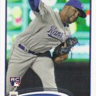 Kelvin Herrera 2012 Topps Rookie #211 Kansas City Royals Baseball Card