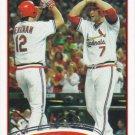 Matt Holliday 2012 Topps #320 St. Louis Cardinals Baseball Card