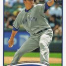 Hiroki Kuroda 2012 Topps #572 New York Yankees Baseball Card