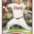 Wade Miley 2012 Topps Rookie #558 Arizona Diamondbacks Baseball Card