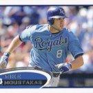 Mike Moustakas 2012 Topps #641 Kansas City Royals Baseball Card