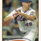 Jon Niese 2012 Topps #49 New York Mets Baseball Card