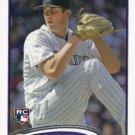 Drew Pomeranz 2012 Topps Rookie #42 Colorado Rockies Baseball Card