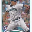 Erasmo Ramirez 2012 Topps Update Rookie #US245 Seattle Mariners Baseball Card
