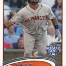 Pablo Sandoval 2012 Topps Update #US182 San Francisco Giants Baseball Card