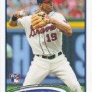 Andrelton Simmons 2012 Topps Update Rookie #US232 Atlanta Braves Baseball Card