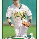 Eric Sogard 2012 Topps #487 Oakland Athletics Baseball Card