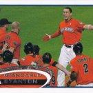 Giancarlo Stanton 2012 Topps Update #US154 Miami Marlins Baseball Card