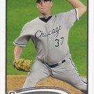 Matt Thornton 2012 Topps #546 Chicago White Sox Baseball Card