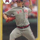 C.J. Wilson 2012 Topps '1987 Mini' #TM123 Los Angeles Angels Baseball Card