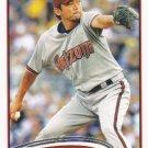 Takashi Saito 2012 Topps Update #US181 Arizona Diamondbacks Baseball Card