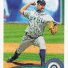 David Aardsma 2011 Topps #149 Seattle Mariners Baseball Card