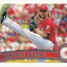 Bronson Arroyo 2011 Topps #98 Cincinnati Reds Baseball Card