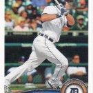 Alex Avila 2011 Topps #497 Detroit Tigers Baseball Card