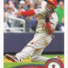 Erick Aybar 2011 Topps #31 Los Angeles Angels Baseball Card