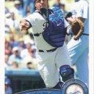 Rod Barajas 2011 Topps #575 Los Angeles Dodgers Baseball Card
