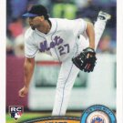 Pedro Beato 2011 Topps Rookie #639 New York Mets Baseball Card